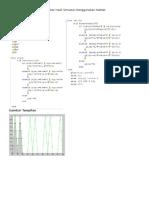 Gambar Hasil Simulasi Menggunakan Matlab