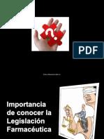 Importancia de Conocer Legislacion Farmaceutica