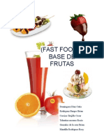 Proyecto Fast Food