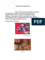 Industri Kraf Tangan Di Malaysia