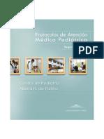 Protocolo de atención medico pediatrico