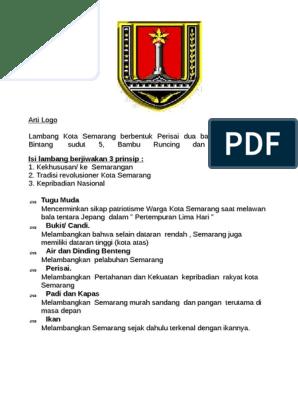 Arti Logo Kota Semarang