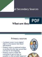 Primary Secondary