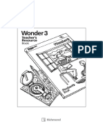 Teacher's Resource Book wonder 3