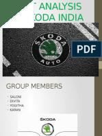 Swot Analysis of Skoda India