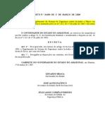 Decreto 24.054 de 1º de Março de 2004