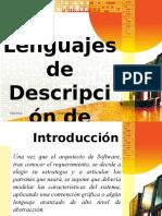 Documents.mx Lenguajes de Descripcion de Arquitecturas