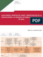 Guia Rapida Proceso de Canje y Ministracion de La Convocatoria 5.4 Periodo Octubre
