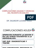 Complicaciones Agudas y Cronicas de Paciente en Dialisis