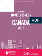 The State of Homelessness in Canada 2016