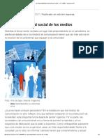 La Responsabilidad Social de Los Medios - 17.11.2007 - Lanacion