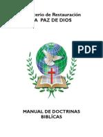 Manual de Doctrinas Biblicas