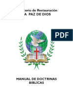 Manual de Doctrinas Biblicas