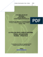 La Policia en El Nuevo Sistema Penal Acusatorio - Hugo Muller Solón