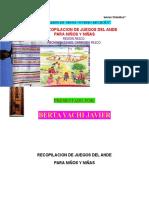 Juegos Para Niños y Niñas 2014 Ovidio Decroly