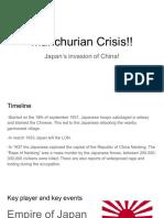 manchurian crisis