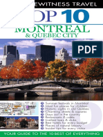 Montreal & Quebec City (DK Eyewitness Top 10 Travel Guides)