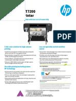 Brosur HP Designjet T7200 Plotter