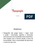 A História Da Topografia