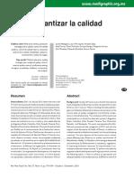 Articulo Garantizar La Calidad Analitica