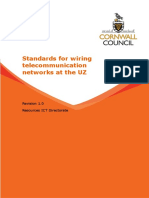 Standards for Wiring Telecommunications Networks