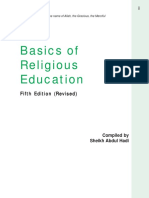 Basics Religious Education