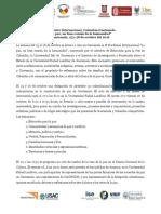 Programa encuentro Colombia y Guatemala, 27 y 28 de Octubre 2016