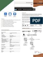 7.1 Converter IPx5200 Server Datasheet