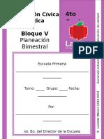 4to Grado - Bloque 5 - Formación C y E
