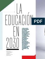 L'educació al 2030