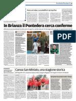 Il Tirreno Pontedera 21-10-2016 - Calcio Lega Pro