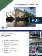2016-2017 Leiden University Presentation Webinar