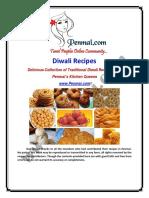 Penmai's Diwali Recipes  2013 - Free Download!
