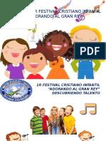 1er FESTIVAL CRISTIANO DE ADORACION, DESCUBRIENDO TALENTO.pptx