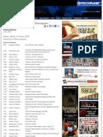 Bilderberg 2010 Offizielle Teilnehmerliste