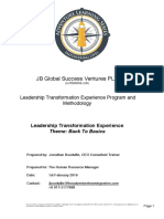 Corporate Learning Leadership Program Proposal