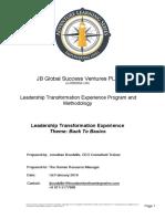 Corporate Learning Leadership Program Proposal