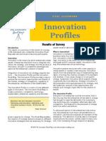 Innovation Profiles