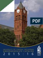 Under graduate Full Catalog