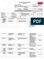 Job Hazard Analysis for desalination of first effect retubing