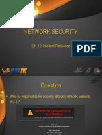 NS - 12 Incident Response