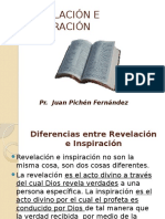 Diferencias Entre Revelacion e Inspiracion