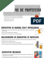 Seguridad Dispositivos de Protección