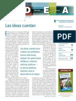 Ideas Para El Desarrollo en Las Américas (IDEA), Volumen 35- Septiembre-diciembre, 2014- Las Ideas Cuentan