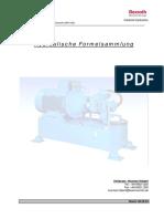 Hydraulik Rexroth Bosch Gruppe Formelsammlung