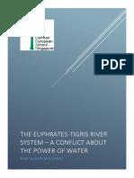 river euphrates-tigris - dams