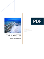 river yangtze - dams