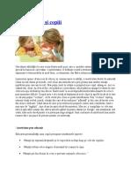 Asertivitatea şi copiii