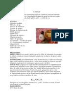 Recetas Comida Tipicas de Guatemala