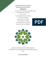 Islam Dan Ekologi Manusia